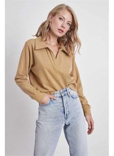 Vitrin Sweatshirt Camel